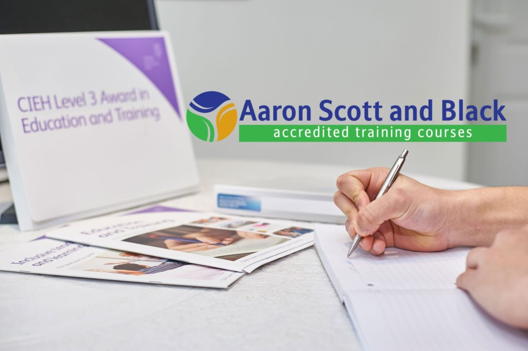 accredited training courses from aaron scott and black