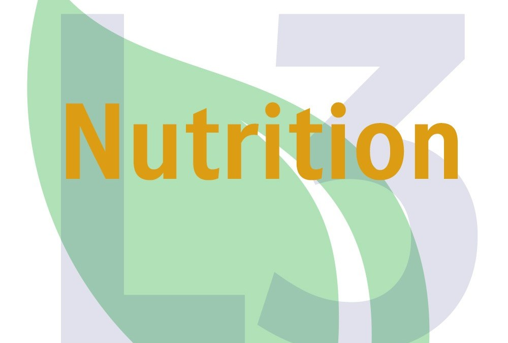 Level 3 Award in Nutrition for Caterers