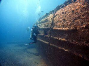 Wreck - Navy Tug - Teresa - diver