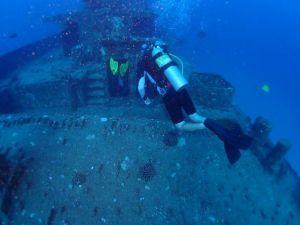wreck - Seatiger - divers