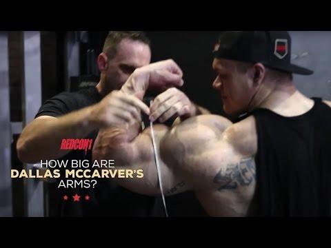 How big are Dallas arms