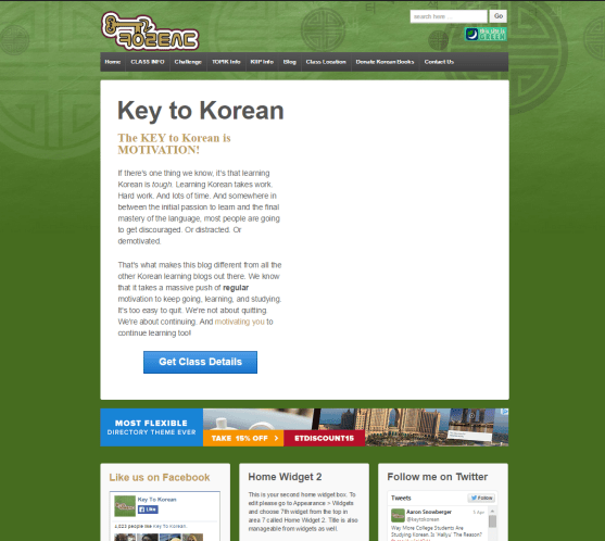Key To Korean 2012