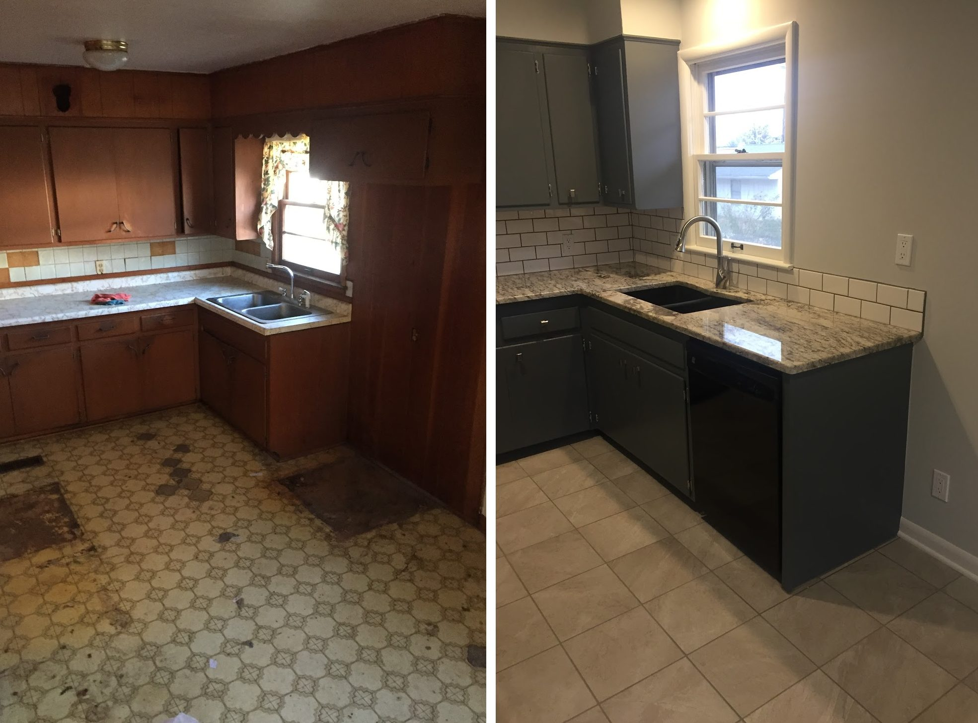 kitchen remodeling overland park - aaron's painting and remodeling