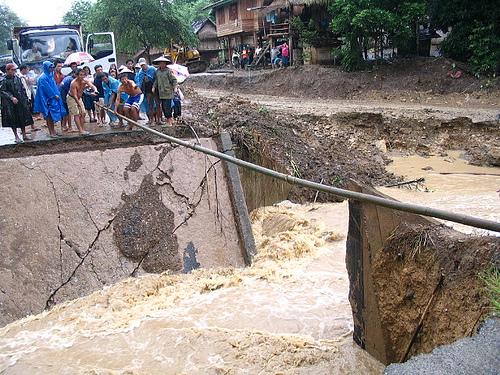 Bridge Construction Begins