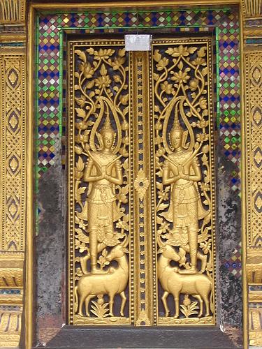 Wat Visoun Window