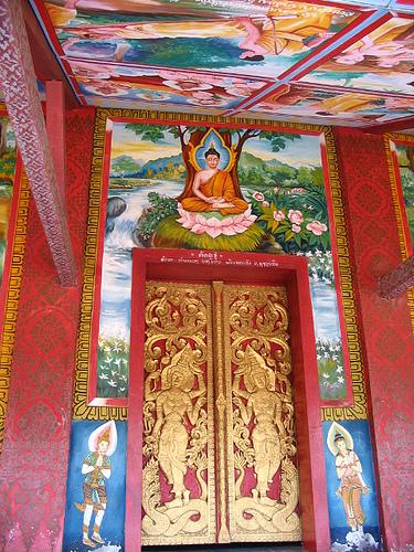 Huay Xai Wat Door