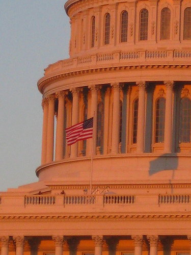 Capitol at Sunset