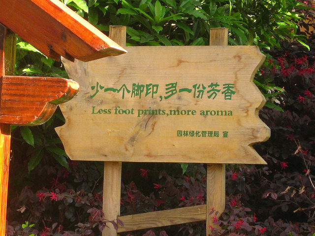 Less Foot Prints, More Aroma