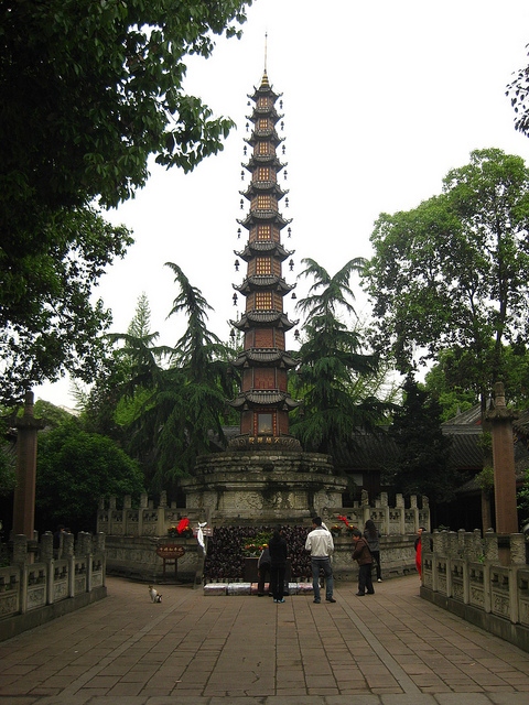 Tower at Temple