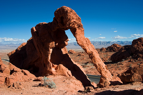 Valley of Fire - Elephant Rock