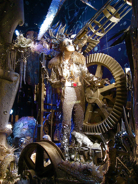 Bergdorf Goodman Holiday Window