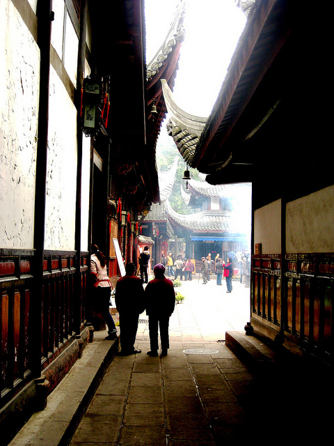 Temple Alleyway