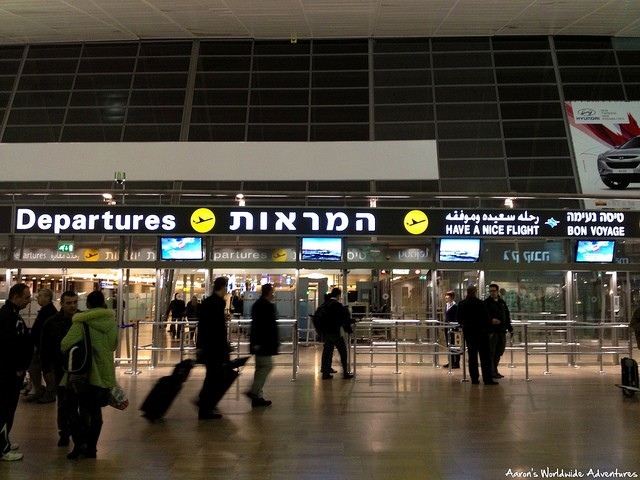 Leaving Tel Aviv: My Experience Through Airport Security at Ben Gurion