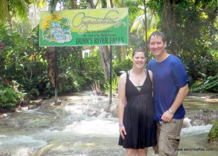 We completed Dunn's River Falls