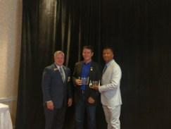 Receiving national marketing awards