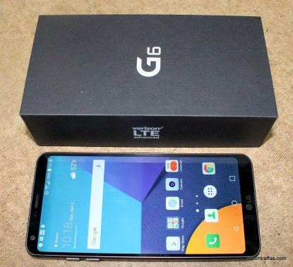 LG G6 with box