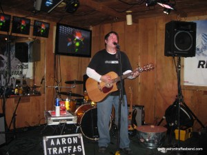 Aaron Traffas at Bobby T's