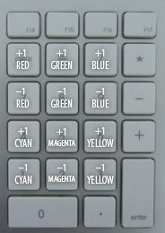 Printer Point Controls for colour grading
