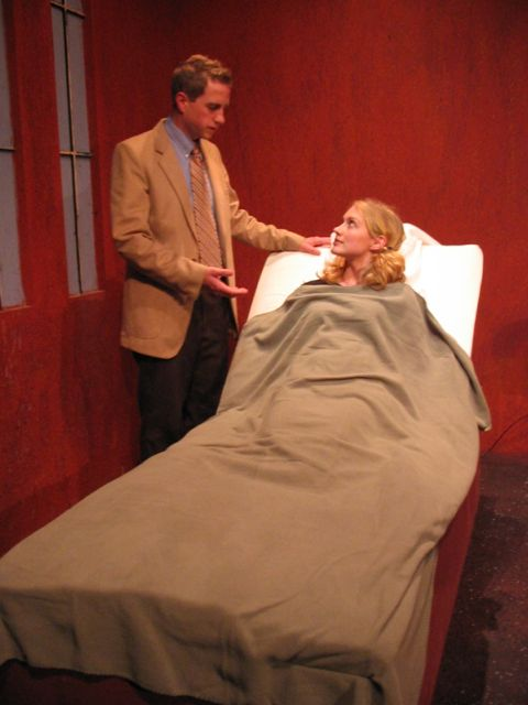"Kirby Heyborne and Emily Rankin in ""A Sepulchre of Songs"""