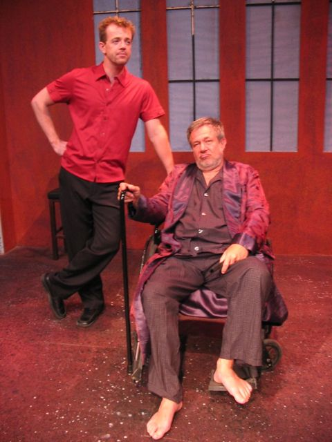 "Scott Brick and Stefan Rudnicki in ""Clap Hands and Sing"""