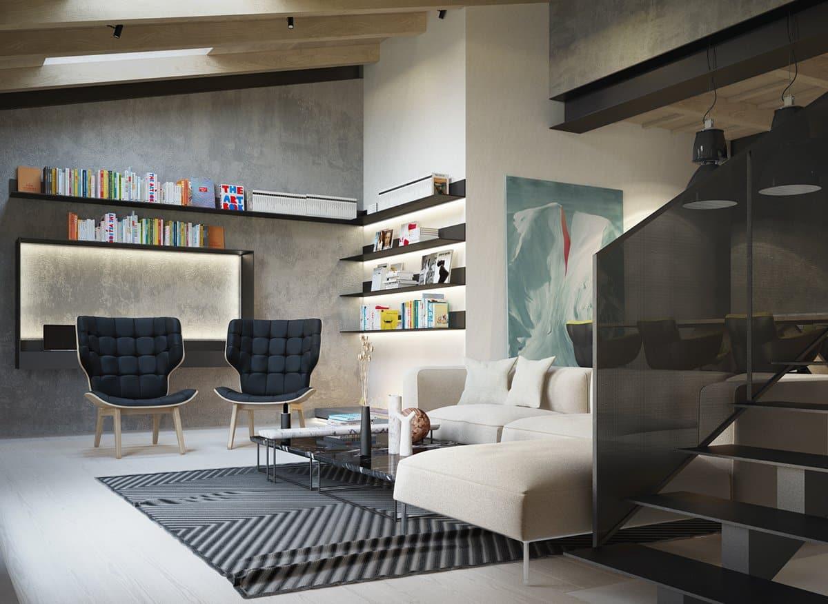 concreto na decoracao arquiteta 6 - A tendência do concreto na decoração