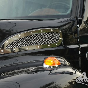 Grill Mesh Hood Side  for International CXT  Part#: 040703.1.0.24 $195