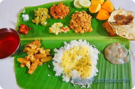 Konkani veg thali1