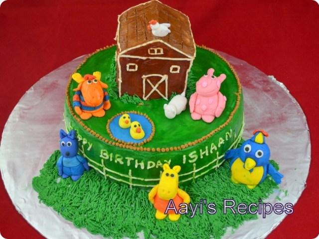 backyardigans cake3