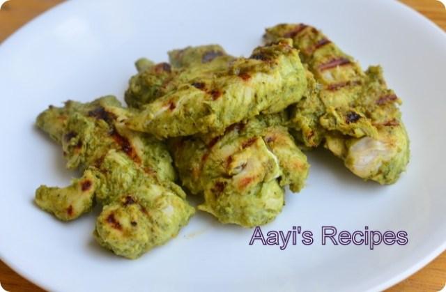 chicken achari kabab