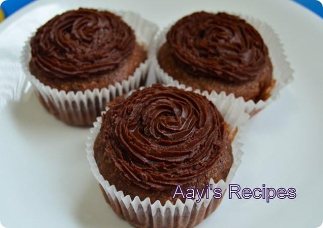 eggless chocolate cupcakes
