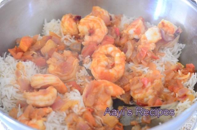 shrimp biryani9