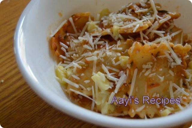 tomato veg pasta sauce