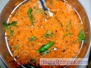 Carrot Salad(Carrot kosmir/kosambir)