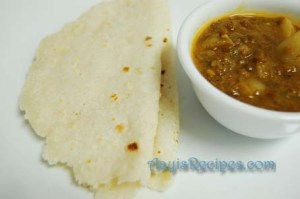 Rice roti (Alayle pita rotti)