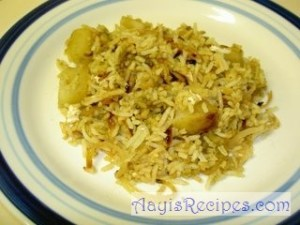 Biryani (chicken or veg) – Belgaum style