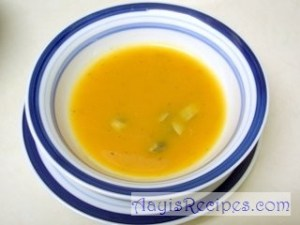 Mushroom and vegetable Soup