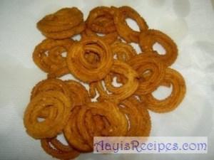 Chakli (chaakli or chakkuli)