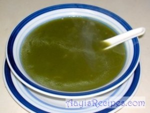 Spinach(Palak) soup