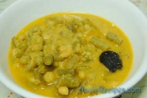 Beans-peas sidedish (Beans-otane randayi)
