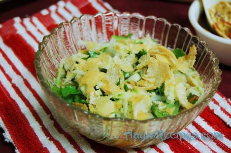 Recipe for ragda patis