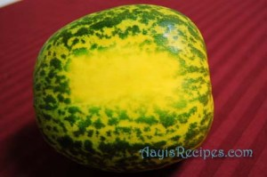 Cucumber gravy (Magge/moggem ambat)