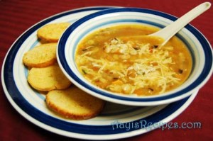 Pasta and bean soup(Zuppa di Pasta e Fagioli)