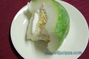 Ash gourd sambar(Puli koddel or boLu sambaru)