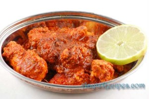Chicken ghee roast