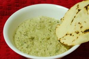 Ridgegourd chutney (Gosale sasam or Gosale Bharth)