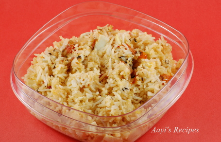 simple egg biryani