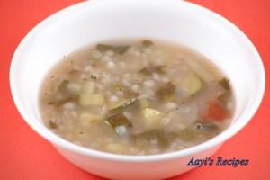 Vegetable-Barley Soup