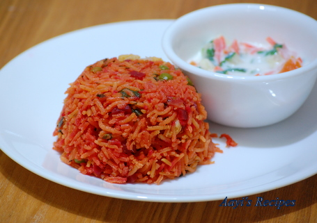 beetroot spinach pulav