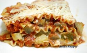 Vegetable Lasagna – 2