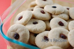 Coconut Cookies (Eggless)